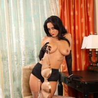 "Alex -  My name is Alex, I am a 36 year old brunette, I am 5ft 6"" in height, 5ft 8 in heels.  Yes I have a dirty mind and always in the mood to make you cum.  If you are up for it call me, my agent number is 7124."