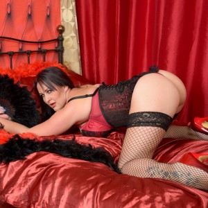 Lilly - I love holding my large 34H breasts and hard nipples I am sure you are going to love them too.