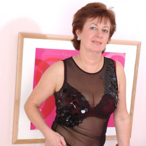 Penny - Underneath my smart look I just love to be sexy wearing black stockings and panties as I know it drives you boys wild.  I love role play and to join in your fantasies.