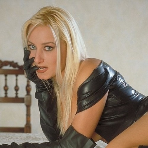 "Lucie - My name is Lucie and I am 38 years old.  I am quite tall at 5 FT 9"" and I have blue eyes and long  blonde hair and a very ample bust and a 26 inch waist"