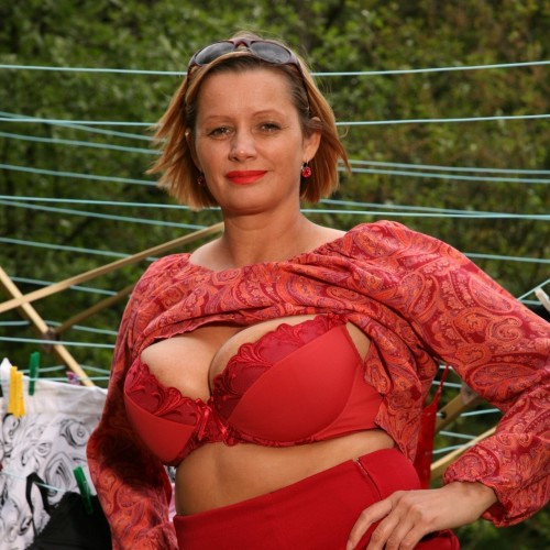 """Maria - Hi guys, my name is Maria, I am 5 FT 6"""" and 40 years old with short blonde hair and 38DD tits.  I love sucking cock and getting my bottom spanked."""